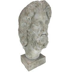 Hellenistic Style Plaster Bust