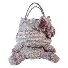 Hello Kitty X Anteprima Pink Silver Wire Shoulder Bag