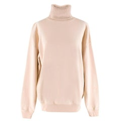 Helmut Lang Cable Knit Neck Sweatshirt XS
