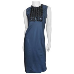 Helmut Lang Dress with Sequin Panel