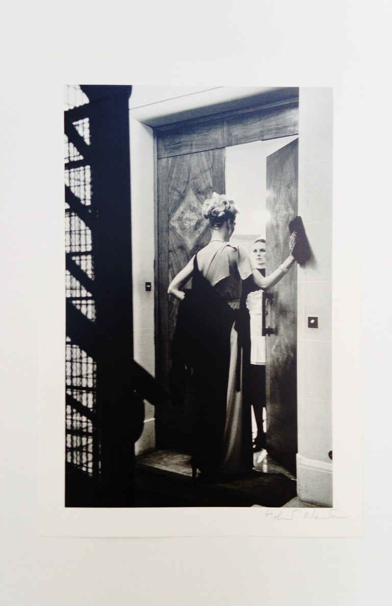 16th arrondissement - Photograph by Helmut Newton