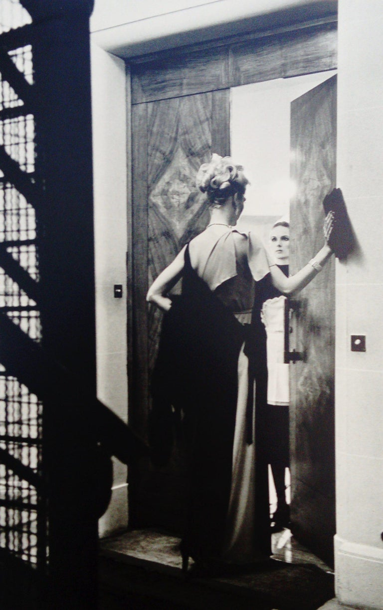 Helmut Newton Black and White Photograph - 16th arrondissement