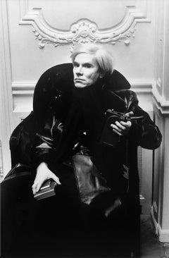Andy Warhol, Paris, 1975