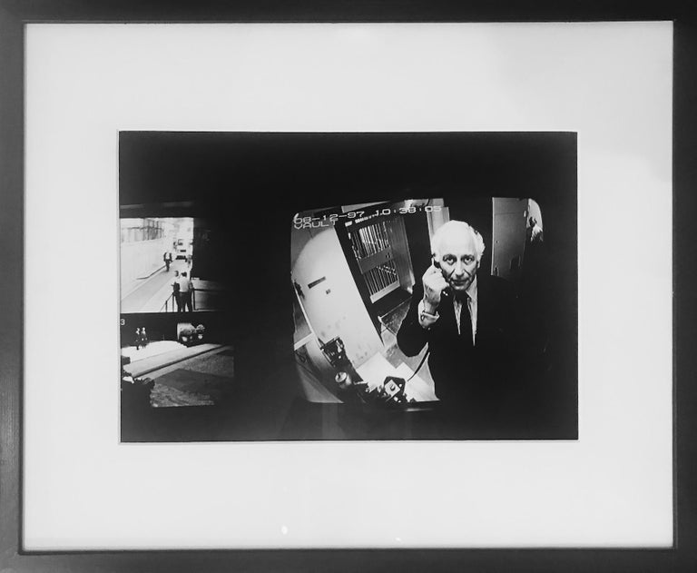 Checkpoint, Evelyn Rothschild, London - Photograph by Helmut Newton