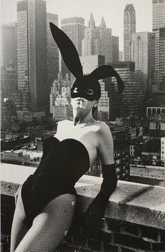 """Elsa Peretti II, New York 1975"" Vintage Silver Gelatin Print by Helmut Newton"