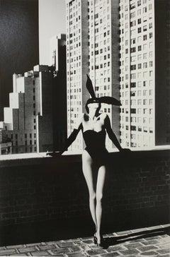 """Elsa Peretti, New York 1975"" Vintage Silver Gelatin Print by Helmut Newton"