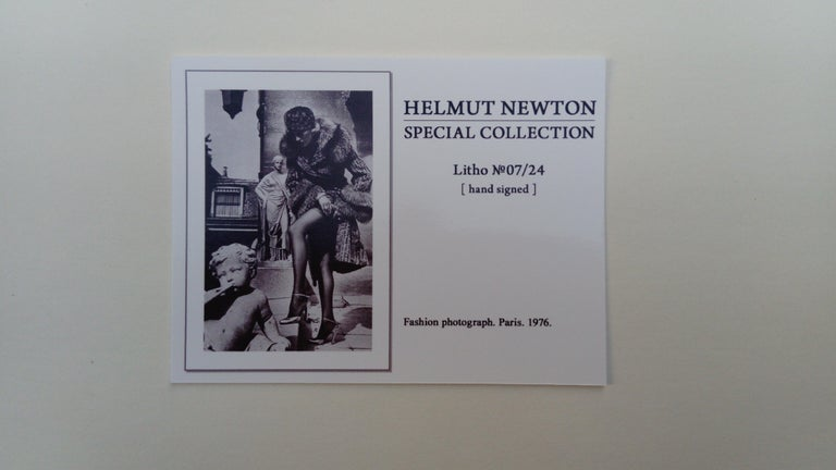 Helmut Newton, Offset Lithograph For Sale 3