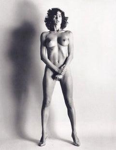 Helmut Newton, 'Big Nude III: Henrietta', Signed Original Silver Gelatin Print