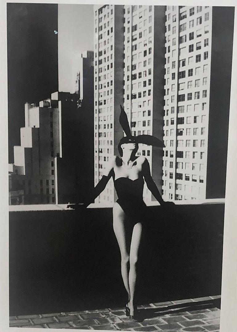 Helmut Newton, 'Elsa Peretti in Halston Bunny Costume', 1975 - Contemporary Photograph by Helmut Newton