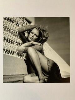 "Helmut Newton - "" Kim Basinger, Santa Monica"" 1986"