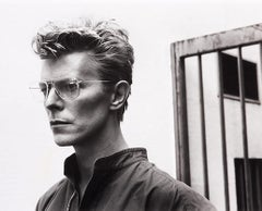 Helmut Newton, 'Portrait of David Bowie' Monte- Carlo, 1982 Silver Gelatin Print