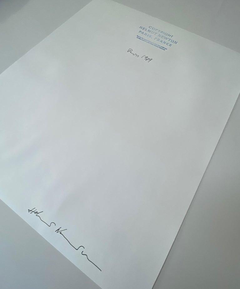 Helmut Newton, 'Rue Aubriot', 1975 (Signed)  For Sale 3
