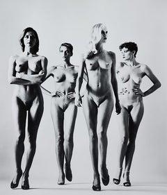 Helmut Newton, 'Sie Kommen' 1981, Signed Original Silver Gelatin Print