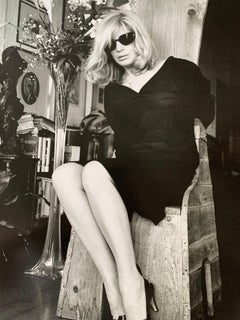 Helmut Newton Sumo - Monica Vitti, Vanity Fair, Rome 1986