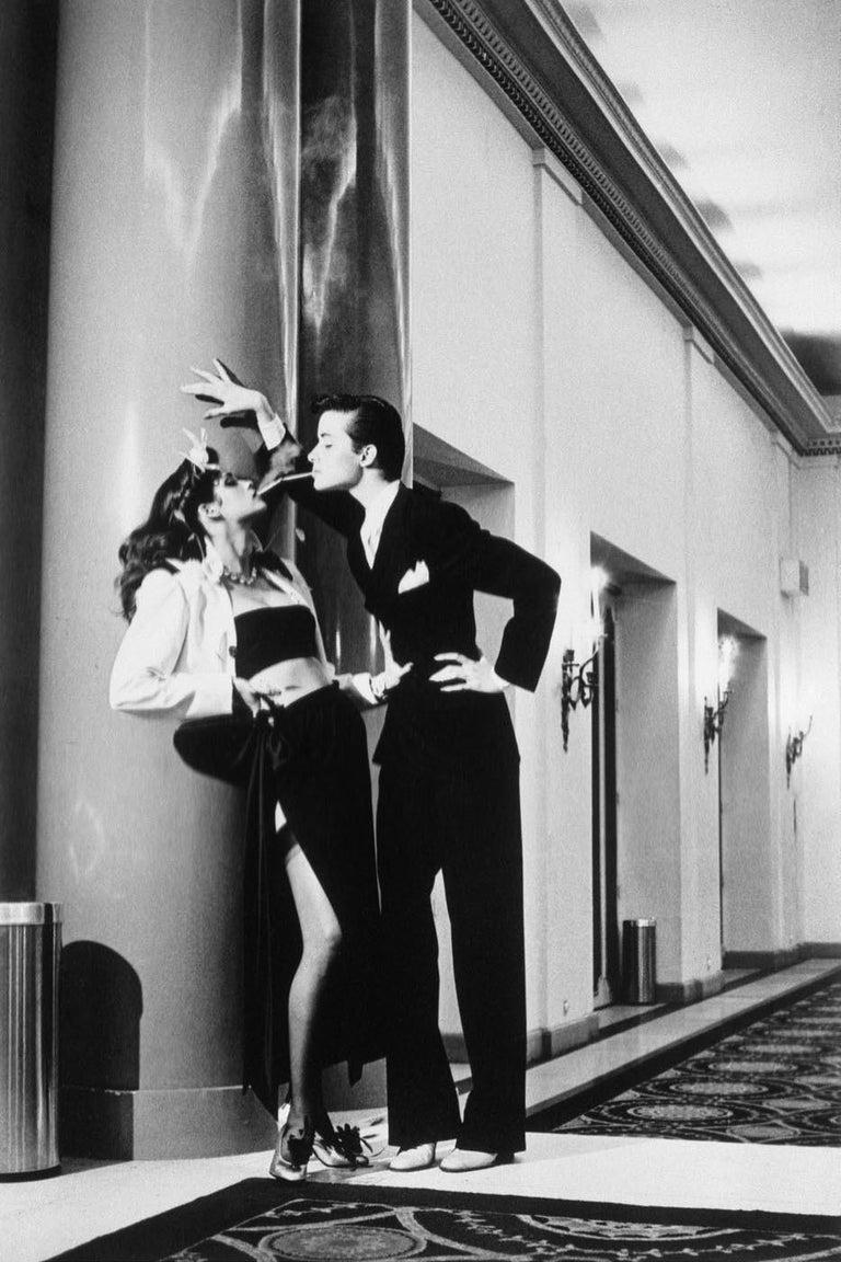 Helmut Newton, 'Woman Into Man', 1979 - Photograph by Helmut Newton
