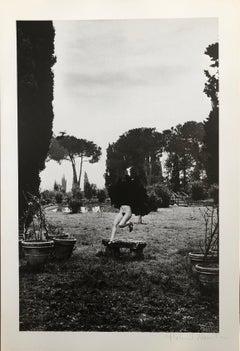 In a garden near Rome, 1977