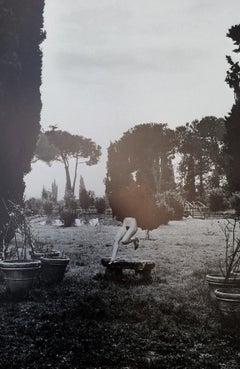 In a garden near Rome