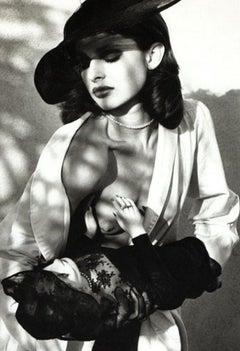 "Nastassja Kinski and a Marlene Dietrich Doll - 16"" x 20"" Signed by Helmut Newton"