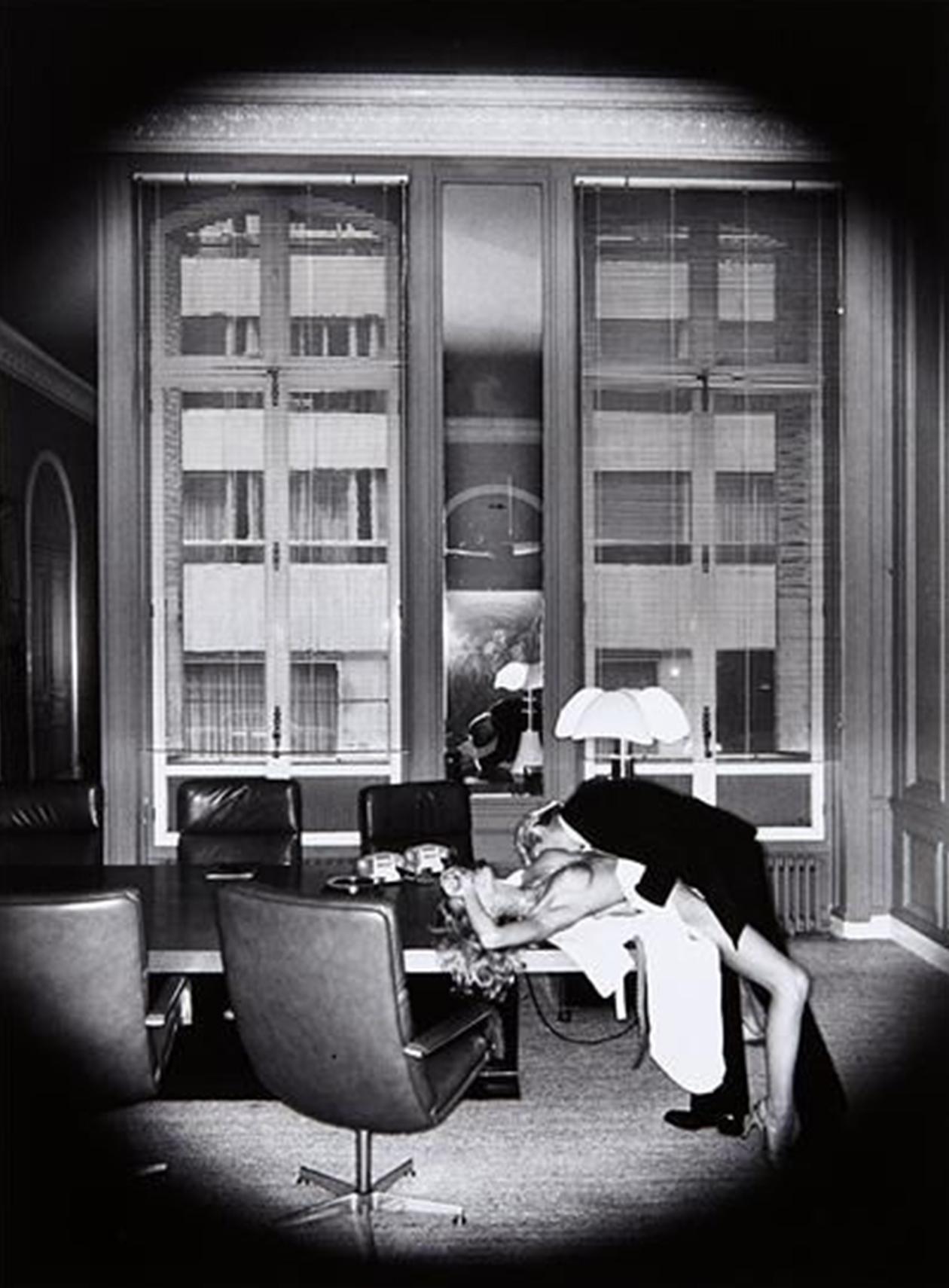 Office Love, 1976 - Paris 20x24, signed Helmut Newton, Paris, 1982 w/copyright