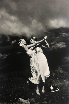 """Rene Russo & Cheryl Tiegs, Hawaii 1974"" Silver Gelatin Print by Helmut Newton"