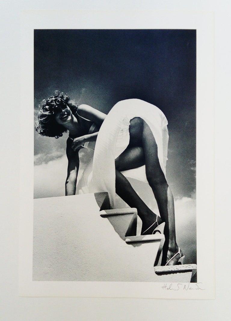 Saint Jean Cap Ferrat - Photograph by Helmut Newton