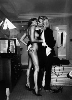 """Two Models"" Taken for YSL, 1975"