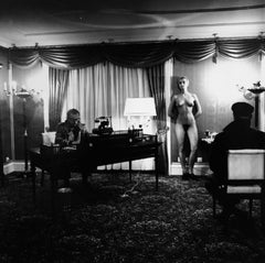 """Voyeurism in LA"" by Helmut Newton"