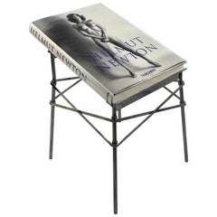 Helmut Newton Sumo Big Nude Art Book on Starck Chrome Stand Signed 3114/10000