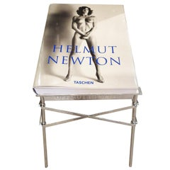 Helmut Newton Sumo Book on Philippe Starck Chrome Stand