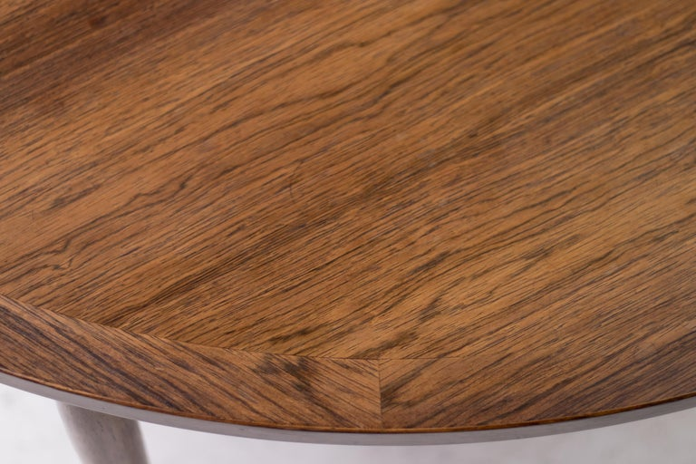 Scandinavian Modern Heltborg Møbler for Domus Danica Rosewood Coffee Table For Sale