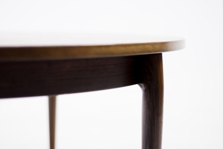 Danish Heltborg Møbler for Domus Danica Rosewood Coffee Table For Sale