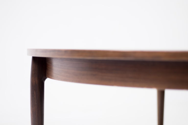 Heltborg Møbler for Domus Danica Rosewood Coffee Table In Good Condition For Sale In Dronten, NL