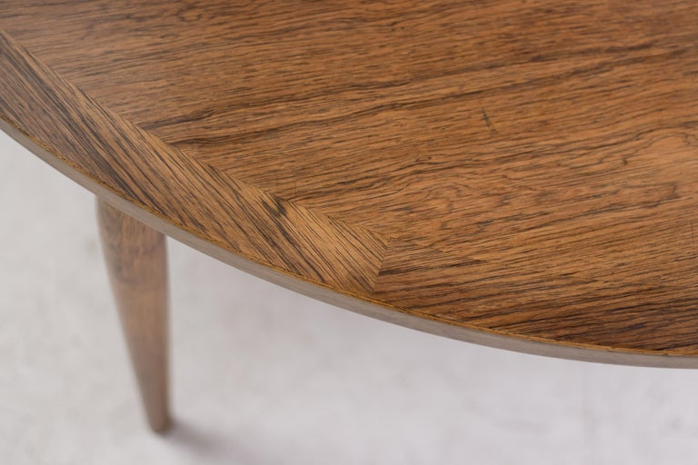 Heltborg Møbler for Domus Danica Rosewood Coffee Table For Sale 1
