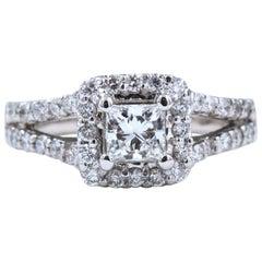 af6204956 Princess Cut Engagement Rings - 516 For Sale on 1stdibs