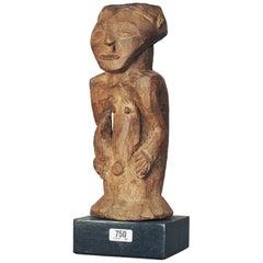 Hemba People, DRC, Male Half Figure Fetish, Morigi Collection Label