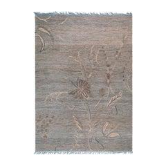 Hemp Floral Rug #1