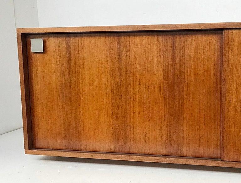 Hendrickx long wall-hanging sideboard, 1970s.