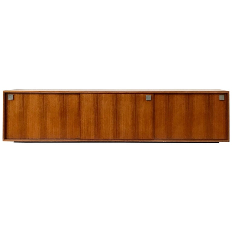 Hendrickx Long Wall-Hanging Sideboard, 1970s For Sale