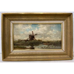 Hendrik-Dirk Kruseman Van Elten Original Painting 19th C.