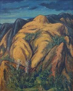 """Mexican Mountains,"" Hendrik Glintenkamp, Modernist Landscape"