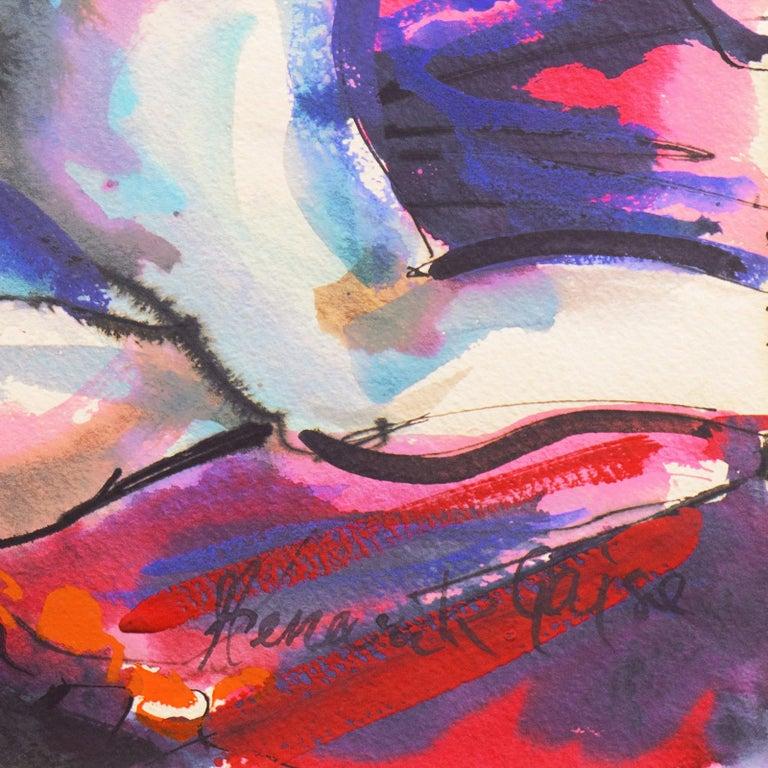 'Reclining Nude', California Expressionist, Art Institute of Chicago 2