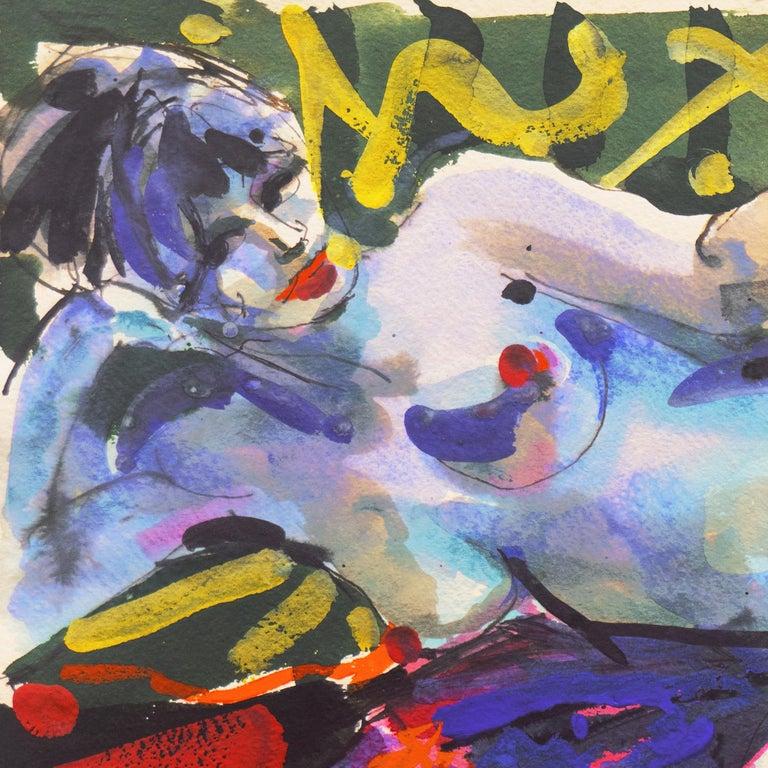 'Reclining Nude', California Expressionist, Art Institute of Chicago 3