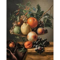 Still Life Of Fruits On A Tazza, dated 1853 by HENDRIK REEKERS (1815-1854)