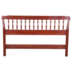 Henkel Harris American Colonial Solid Cherry Queen Size Headboard