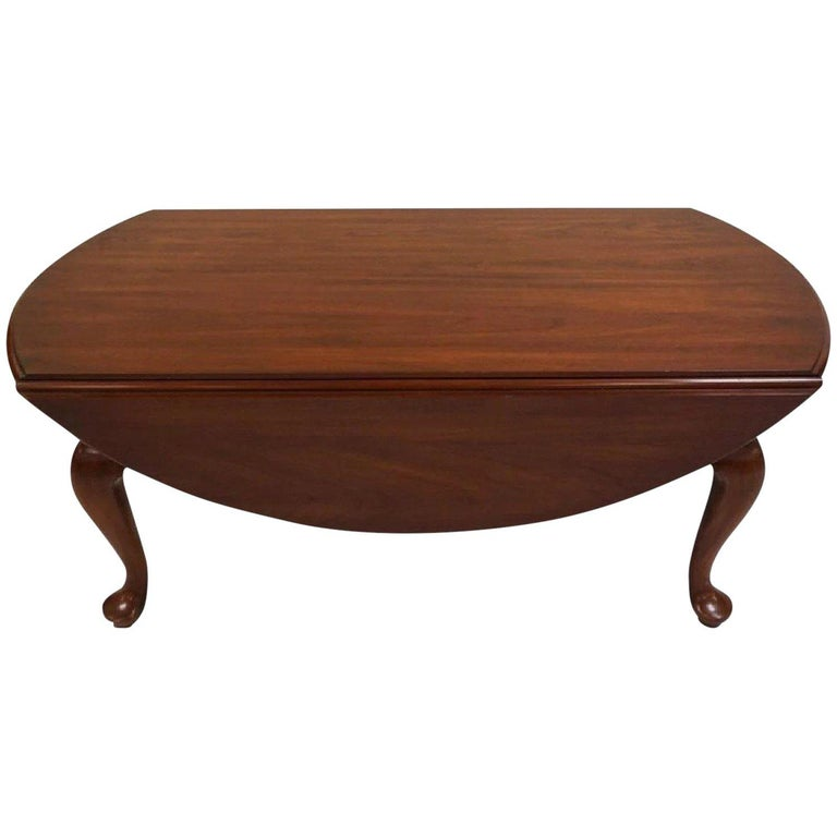 Henkel Harris Wild Cherry Drop-Leaf Handmade Queen Anne