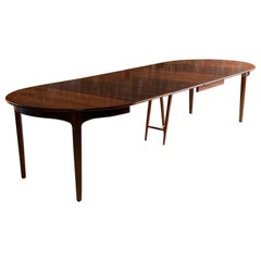 Henning Kjaenulf Rosewood Dining Table Model 62 by Soro Stolefabrik Denmark 1962
