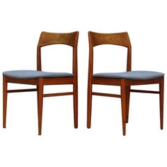 Henning Kjaernulf Chairs Danish Design Teak