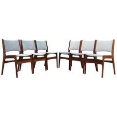 Henning Kjaernulf Chairs Vintage, 1960-1970
