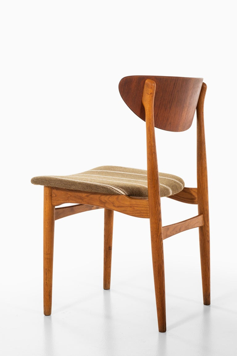 Henning Kjærnulf Dining Chairs Produced by Sorø Stolefabrik in Denmark For Sale 3