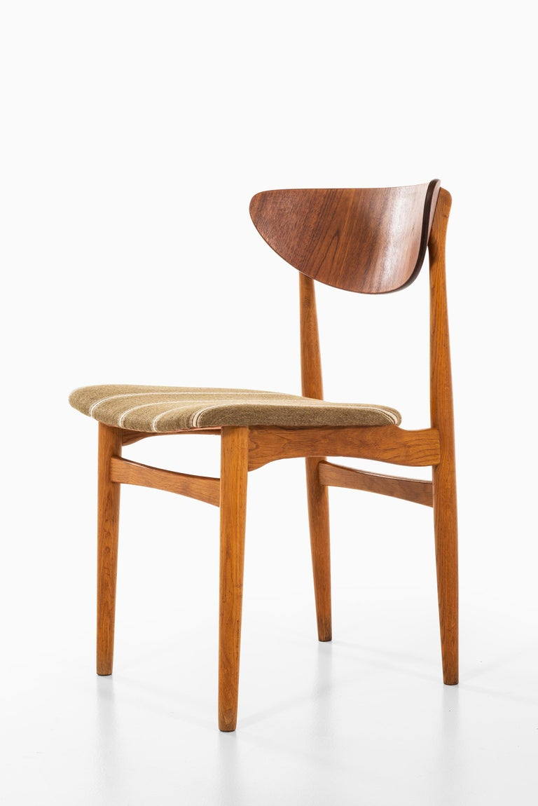 Henning Kjærnulf Dining Chairs Produced by Sorø Stolefabrik in Denmark In Good Condition For Sale In Malmo, SE